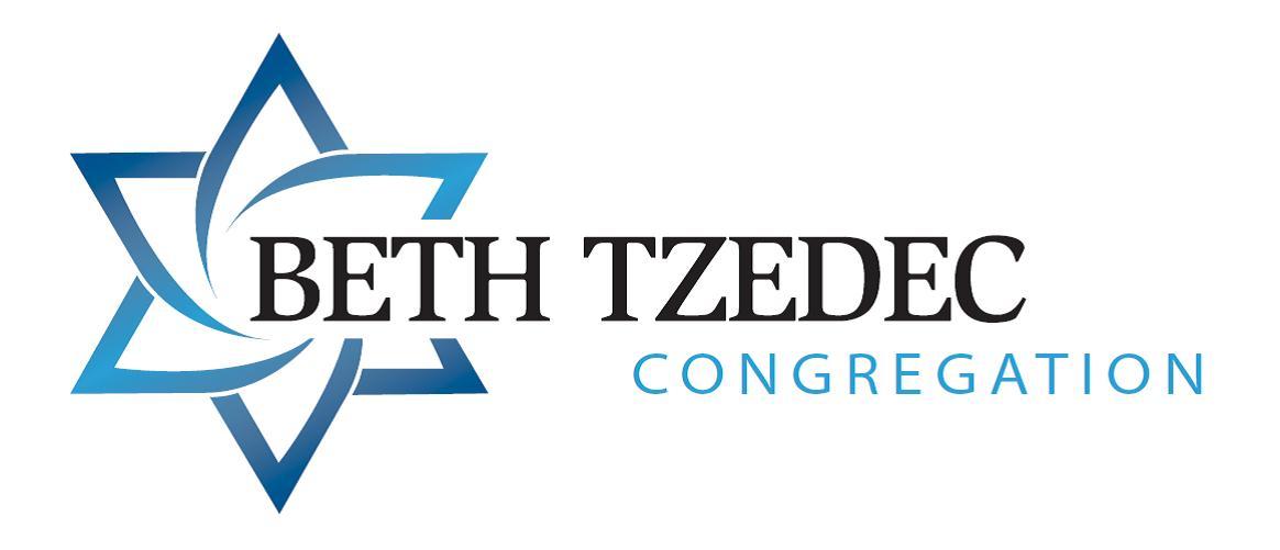 Beth Tzedec Congregation Logo
