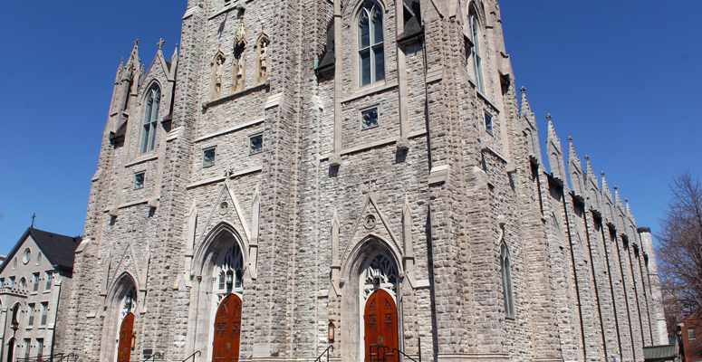 St. Mary's Cathedral in Kingston, Ontario